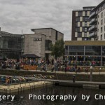 panorama of leeds dock waterfront festival