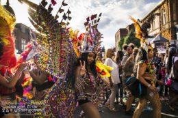Image of a West Indian Carnival Parade